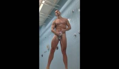 Loiro musculoso